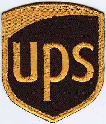 UPS United Parcel Service of North America Badge Embroidered Patch