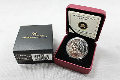 2013 RCM - BU Silver $1 Coin: 100th Anniversary of Canadian Arctic Exhibition