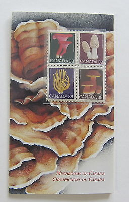 Mushrooms of Canada1989 Stamps