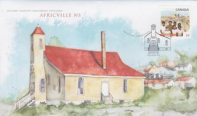 Canada 2014 FDC 2702 Black History Month (Africville)