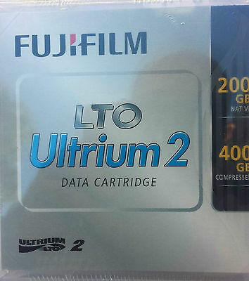FujiFilm HP LTO2 Ultrium 200GB/400GB* rw Data Cartridge