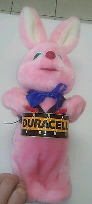 Duracell Battery batteries Pink Bunny Rabbit plush drumming soft toy drummer