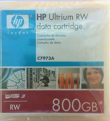 HP LTO3 Ultrium 800GB* RW Data Cartridge /C7973A /Sealed