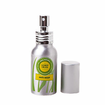 Wasp Spray Insect Repellent 100% Natural Lemongrass BBQ Home Camping FOOD SAFE