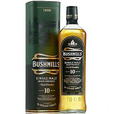 Bushmills 10 Year Old Irish Whiskey 700Ml
