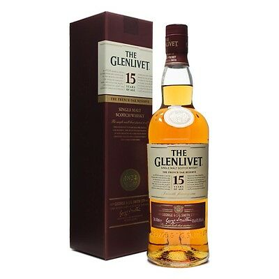 The Glenlivet 15 Years French Oak Reserve Scotch Whisky 700mL