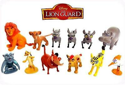 Disney The Lion Guard Cake Toppers Lion King Timon Pumba  Set of 12 Figures