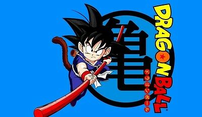 Dragonball Goku TCG playmat, gamemat 60cm wide 36cm tall for trading card game s