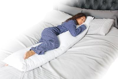 6ft PILLOW and/or PILLOW CASE BODY MATERNITY PREGNANCY NURSING MOBILITY SUPPORT
