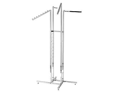 Commercial Quality Four Arm Garment / Clothing Display Rack Hanger