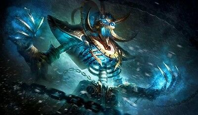 Kel'Thuzad WOW TCG playmat, gamemat 60cm wide 36cm tall for trading card game sm
