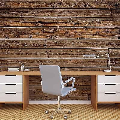 Wood Planks WALL MURAL PHOTO WALLPAPER (1973DK)