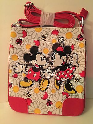 New Disney Parks Daisy Mickey Minnie Crossbody Case  Purse Bag