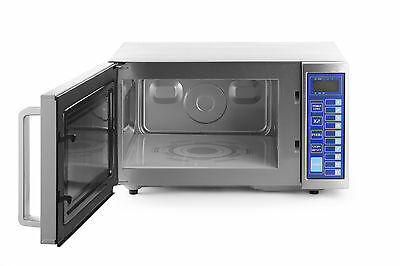 Hendi 1000w Commercial Microwave (281406) - Ideal for commercial kitchen - NEW!