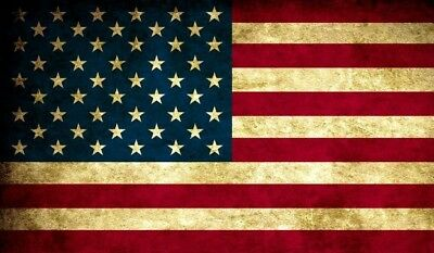 USA Flag TCG playmat, gamemat 60cm wide 36cm tall for trading card game smooth c