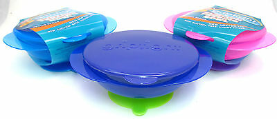 Griptight - Suction Base Baby Deep Feeding Bowl with Lid