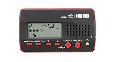 MA-1 Korg Metronome - Electronic with Headphone and Speaker Output