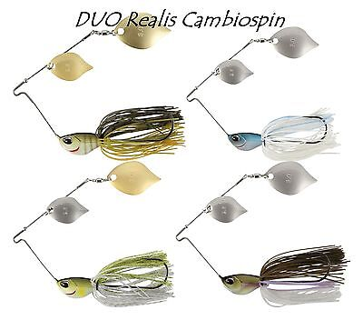DUO Realis Cambiospin Double Blade 10,5 g Spinnerbaits / Farbwauswahl