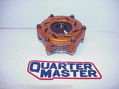 "BRAND NEW QuarterMaster 5.5"" Optimum-V Triple 3 Disc 26 Spline Clutch LS Chevy"