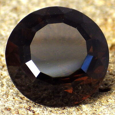 MAHOGANY OBSIDIAN-NEVADA 8.19Ct TRANSPARENT-PRECISION FACETING-FOR JEWELRY!