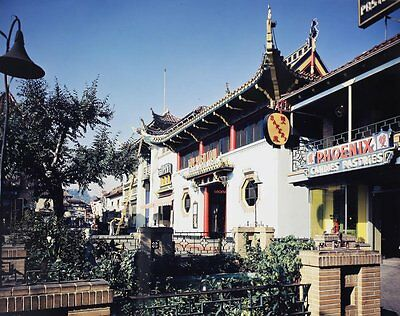 Josef Muench (American 1904-1998) Color Photograph Chinatown, Los Angeles