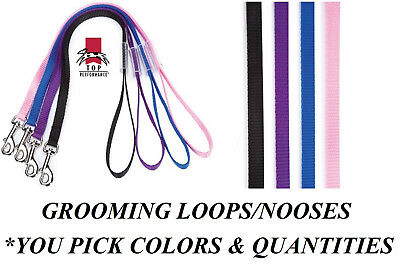 1-Fashion Grooming LOOP for DOG CAT PET Table Arm Bath LOOP Restraint NOOSE 18""