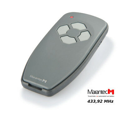 Marantec 384 Remote Control 433.92 MHz 4 Channel Hand Transmitter replaces D-304