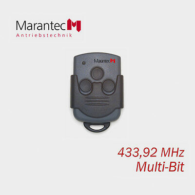Marantec 313 Remote Control 433MHz 3 Channel Hand Transmitter Garage Door Opener