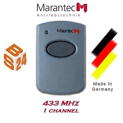Marantec 321 Remote Control 433MHz 1 Channel Hand Transmitter Garage Door Opener