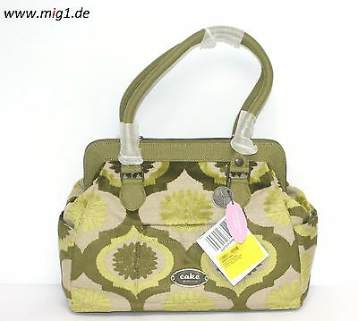 Petunia Pickle Bottom Handtasche Cosmopolitain Carryall, Key Lime Cake, NEU