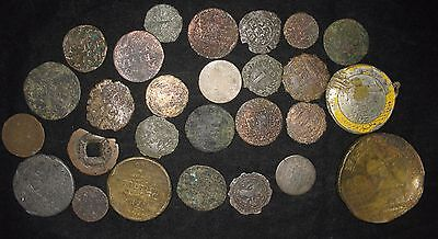 Lot of 27: Culls  from Germany, Netherlands, China Tokens