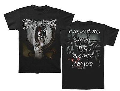Cradle of Filth Creature From the Abyss T-Shirt Large Black Metal New Rare