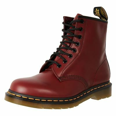 New Dr. Martens Doc Women's Leather 8 Ups Ankle Boot 1460 Cheap