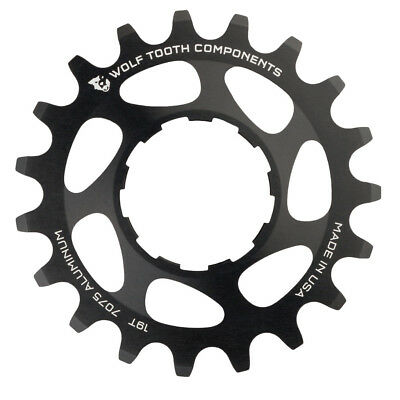 Wolf Tooth Components Single Speed Aluminum Cog: 19T Sram or Shimano
