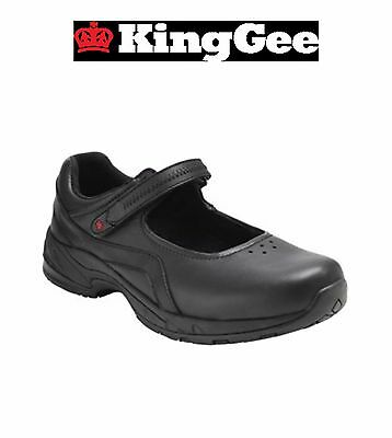 Womens KingGee Chisholm Mary Jane Corporate Lightweight Safety Toe Shoes K22200
