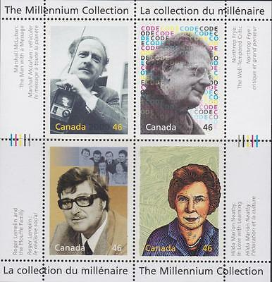 CANADA 2000 Millennium collection #1829 – 12 Great Thinkers