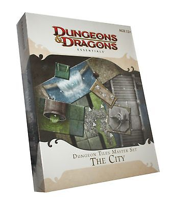 Dungeons & Dragons-D&D-Dungeon Tiles Master Set: THE CITY-Box-engl.-new-OVP-rare