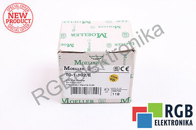 New T0-1-102/e Art.no. 088709 400/415Vac On-Off-Switch Moeller Id11530