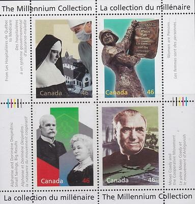 CANADA 2000 Millennium collection #1823 – 6 Social Progress