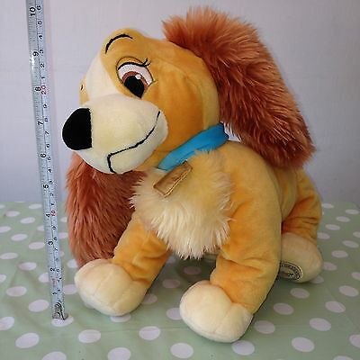 LADY from Lady and the Tramp Plush / Soft Toy DISNEY STORE EXCLUSIVE GREAT GIFT