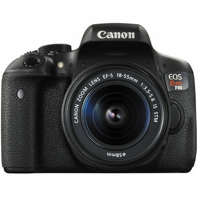 Canon EOS Rebel T6i DSLR Camera (Black) with 18-55mm Lens!! NEW USA MODEL!!