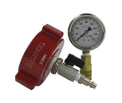 "Allenco Fire Hydrant Flow Testing Kit - 2-1/2"" Cap & Gauge Assembly"