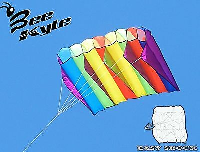 Bee-Kite Easy Shock - Single Line Parafoil Kite 200 x 80 cm. without assembly...