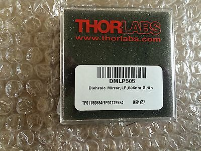 "Thorlabs Ø1"" Longpass Dichroic Mirror, 505 nm Cutoff DMLP505"