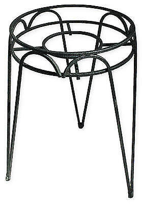 Border Concepts 72240 Hampton Wrought Iron Plant Stand, 15-In.