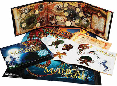 Australia 2011 Young Collectors Mythical Creatures 1 Dollar Coin Collection UNC