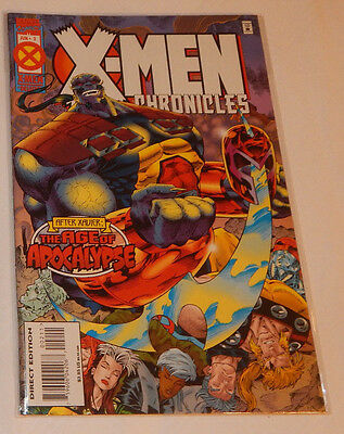 MARVEL COMICS X-MEN DELUXE: CHRONICLES ~ THE AGE OF APOCALYPSE - #2 June 1995