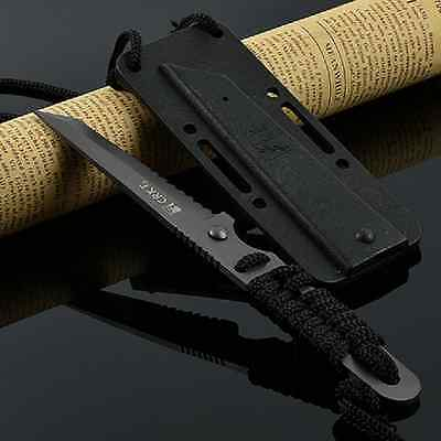 """7"""" Bowie Combat Hunting Survival Steel Knife Fixed Blade Sheath AU Stock CR"""