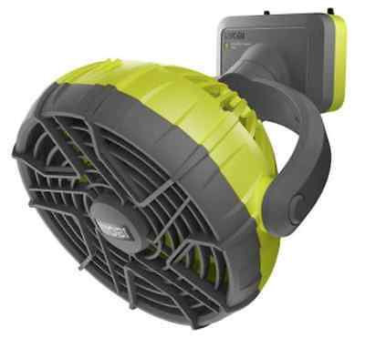 Ryobi Garage Door Opener System Dual Pivot Point Adjustable Speed Fan Accessory