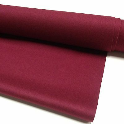 ENGLISH Hainsworth Pool Snooker Billiard Table Cloth Felt kit 9ft BURGUNDY